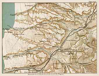 Ukraine Old Antique Region and Overview Maps Prints and Pictures