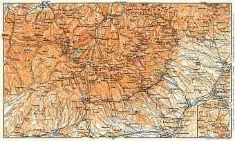 High Tatras map, 1911