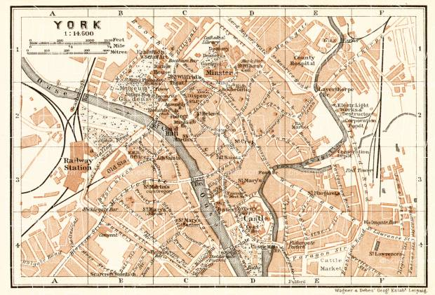 York city map, 1906. Use the zooming tool to explore in higher level of detail. Obtain as a quality print or high resolution image