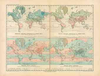 World Climate Map (in Russian), 1910