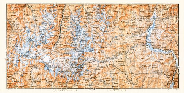 Alps of Valais, d´Evolène and Vogogna (Italy), 1897. Use the zooming tool to explore in higher level of detail. Obtain as a quality print or high resolution image