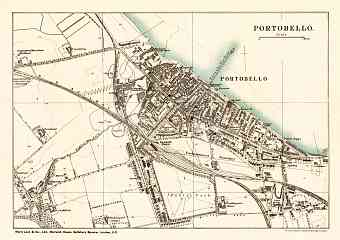Portobello city map, 1908