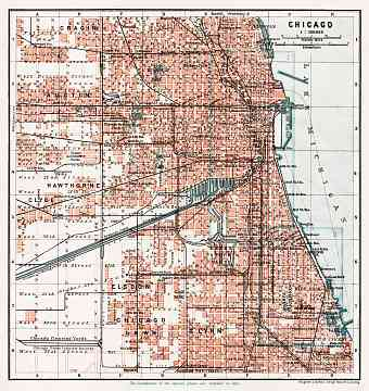 Chicago, general plan, 1909